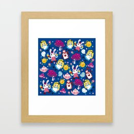 Alice in wonderland Framed Art Print