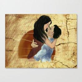 Summer dance  (Loki x Sif) Canvas Print