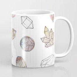 Watercolor Crystals | Healing Crystals Coffee Mug
