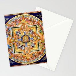 Buddhist Mandala 49 Green Tara Stationery Cards