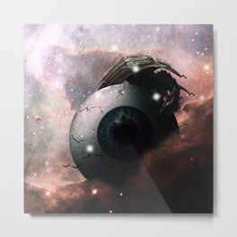Horror Science Fiction Nebula Dreamscape Metal Print