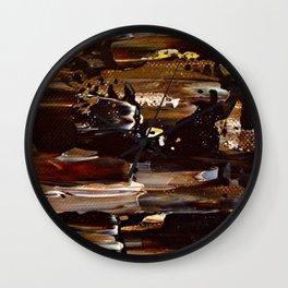 Earthy Wall Clock