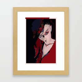 Femme fatale #2 Framed Art Print