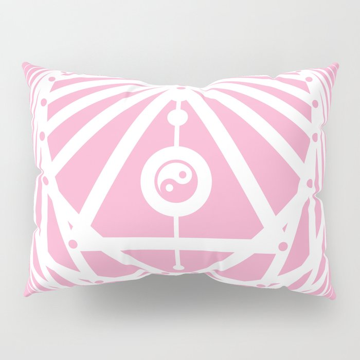 Radiant Abundance (pink-white) Pillow Sham