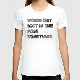 words. T-shirt
