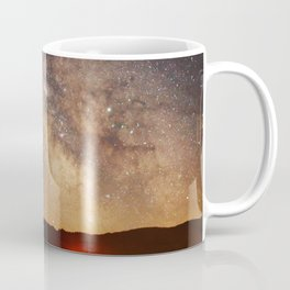 The Salty Raven of Cape Meares Milky Way Coffee Mug
