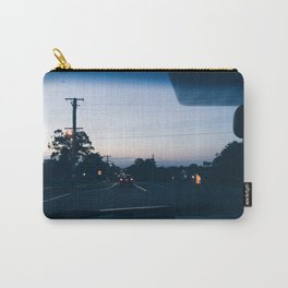 Driving into the sunset Carry-All Pouch