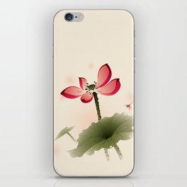 Oriental Lotus 001 iPhone Skin