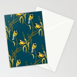 view in the garden Stationery Cards