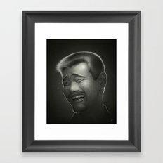 Yao Ming Framed Art Print
