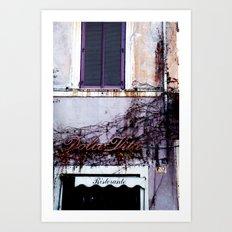 Dolce Vita Art Print