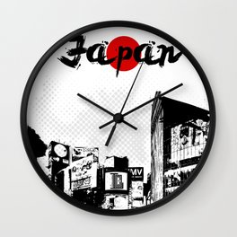 Japan Life Wall Clock