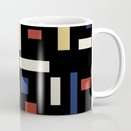 Abstract Theo van Doesburg Composition VII The Three Graces Coffee Mug