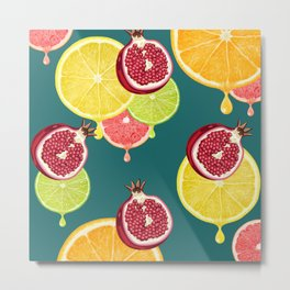 tropic fruit Metal Print