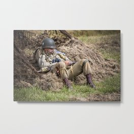 Time out. Metal Print