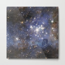 Adventures in Time and Space Metal Print