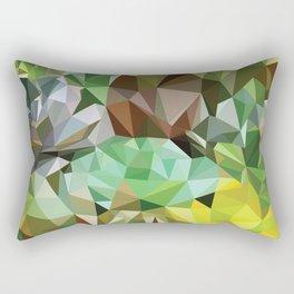VerdesSuculentas Rectangular Pillow