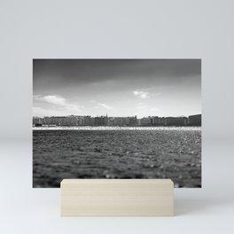 Donostia from the sea. Mini Art Print