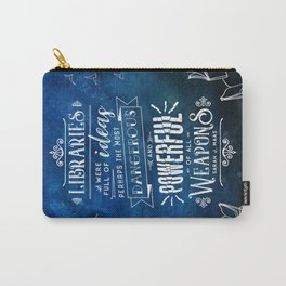 Libraries Carry-All Pouch