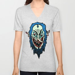 Lord Wizard Head Unisex V-Neck