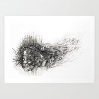 technology Art Prints featuring Technology  by Tim Lord Art