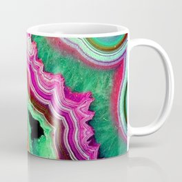 Unicorn Candy Quartz Crystal Agate Coffee Mug