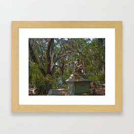 Garden of the gods Framed Art Print