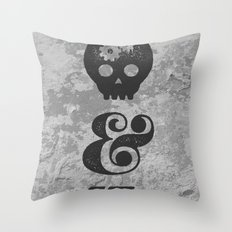 think&draw Throw Pillow