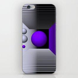 3D-geometry -3- iPhone Skin