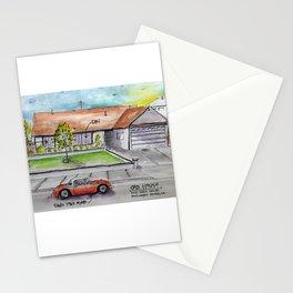 Huntington Beach California House Stationery Cards