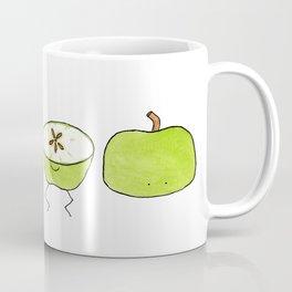 Apple Halves Coffee Mug