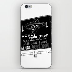 TACO SMELL iPhone & iPod Skin