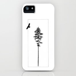 TOUCHING THE CLOUDS iPhone Case