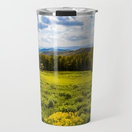 A View of the Blue Ridge Mountains from Shenandoah National Park Travel Mug