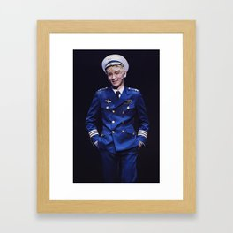 Key - SHINee Framed Art Print
