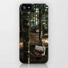 Hammocking iPhone Case