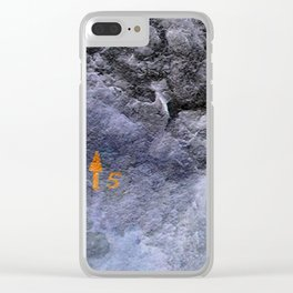 Free climbing Clear iPhone Case