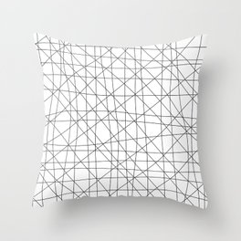 Warp and Weft Throw Pillow