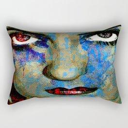 Bette D. eyes Rectangular Pillow