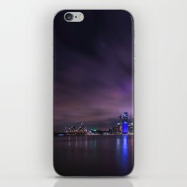 Sydney harbour bridge iPhone Skin