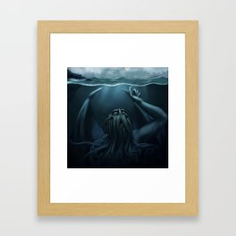 Cthulhu Dreams Framed Art Print