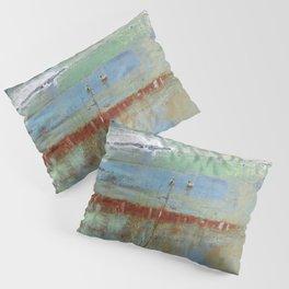 Harbour Abstract II - JUSTART (c) Pillow Sham