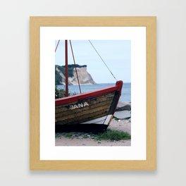 Cape Arkona Framed Art Print