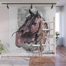 HORSE (ROUGE) Wall Mural