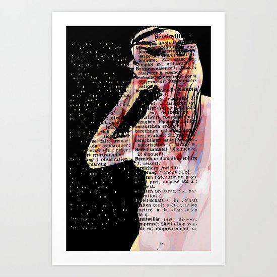 LooK Art Print