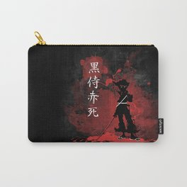 Black Samurai Red Death Carry-All Pouch