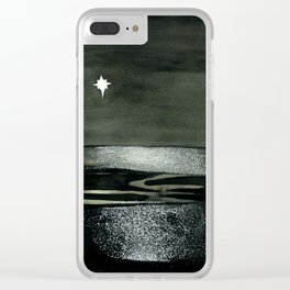 Northern Star Clear iPhone Case