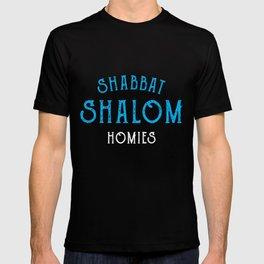 Vintage Shabbat Shalom Homies Jewish  T-shirt
