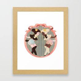 Lambs of a Kind Framed Art Print