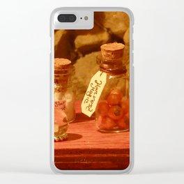 Halloween Magic Clear iPhone Case